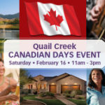 Canadian Days at Quail Creek Homes AZ in Green Valley