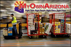 Arizona warehouse distribution center properties