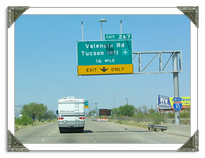 Tucson Highway Conditions I10 in AZ