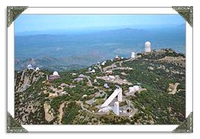 Kitt Peak National Telescope Observatory in AZ