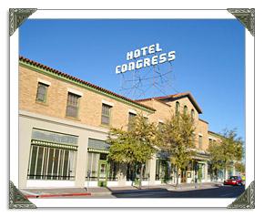 The Hotel Congress in Tucson AZ