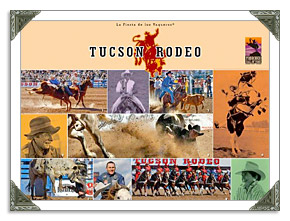 Tucson Rodeo Parade in AZ Museum Grounds