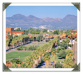 Tucson University of Arizona College in AZ