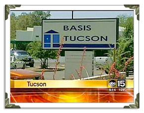 Charter School Tucson Basis City in Arizona