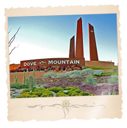 Dove Mountain Resort Arizona Community Homes in Marana, AZ