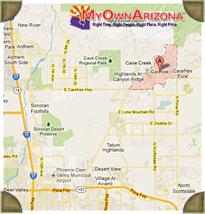 Carefree AZ Homes For Sale and Real Estate